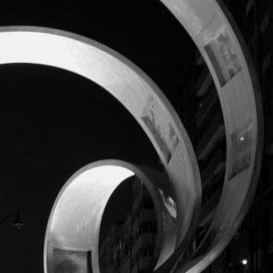 Monumento al cine – Ponferrada bw2