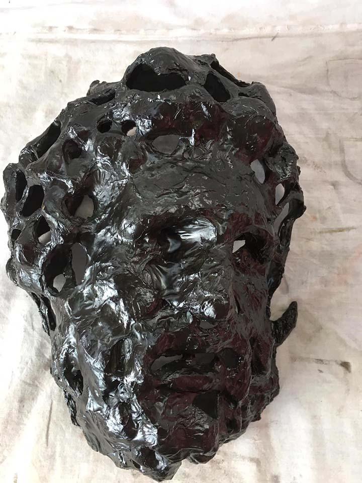 Mircea Suciu – Mask 2020-04-29, bronze