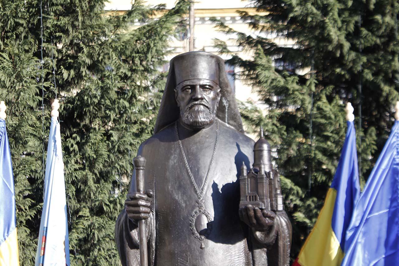 Statuia Bartolomeu Anania, Cluj 2018