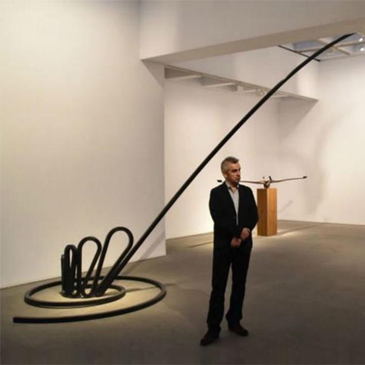 Martin Chirino – Alfaguara XII, Marlborough Gallery – with Dani Pop (720px)