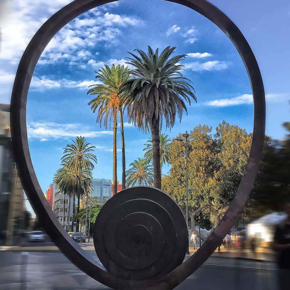 Martin Chirino – Espiral del Viento II – Las Palmas de Gran Canaria