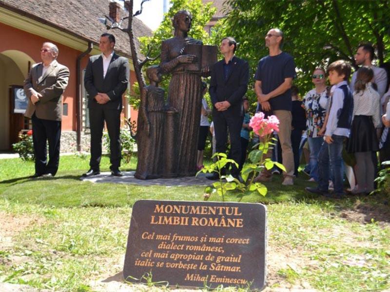 Omagiu adus Limbii Române, Satu Mare 2016