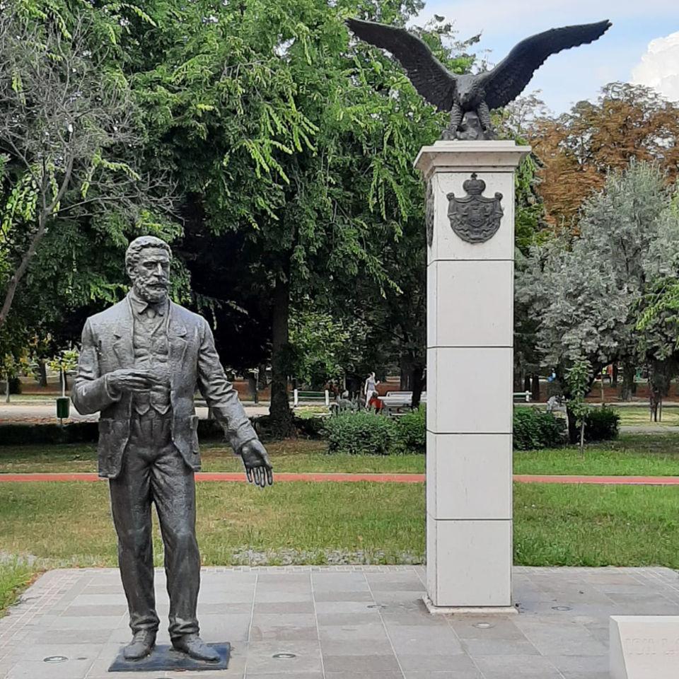 Statuia Ion IC Brătianu, Oradea 2017