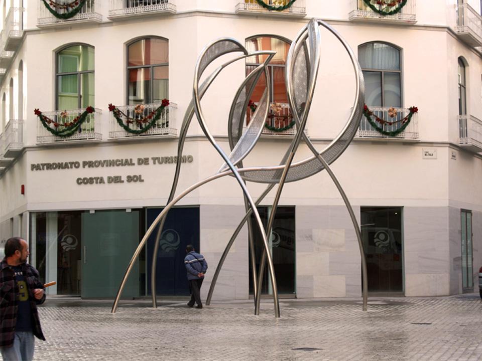 zBlanca Muñoz – Panta Rei (700x610x420 cm) Malaga 2008 6