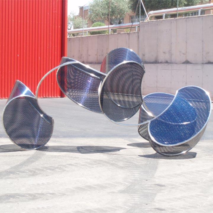 Blanca Muñoz – Candombe 2009 (190x360x220 cm) FA