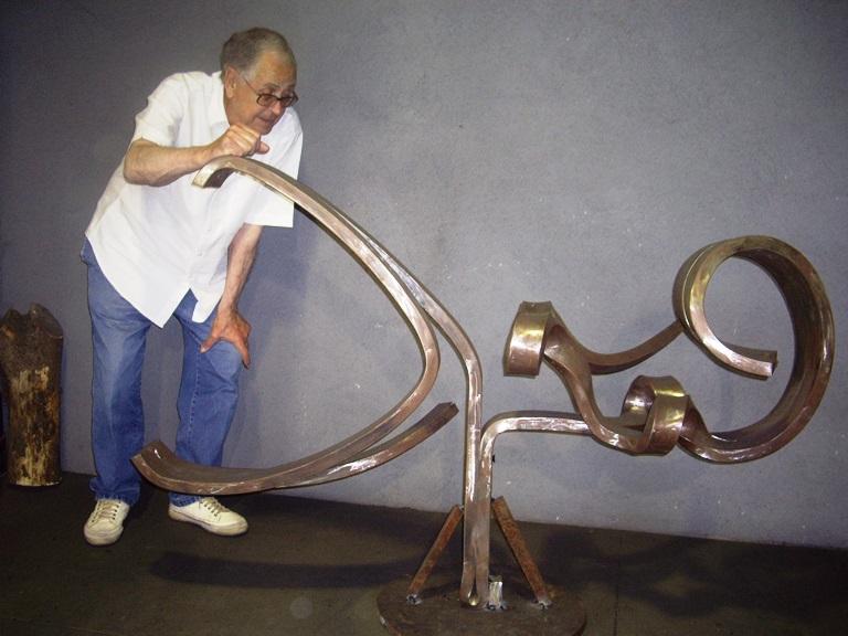 Martín Chirino, Reflexion sobre el Guernica, 2008 (107,5x159x52,5)