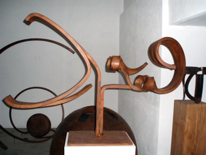 Martín Chirino, Reflexion sobre el Guernica 2008 – Momentos II(107,5x159x52,5)